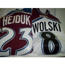 Old Authentic Avalanche Player Jersey