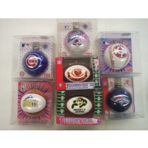 Asst. NFL, MLB, NHL, NBA, & College Logo Ornaments