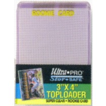 ROOKIE CARD TOP LOAD CARD HOLDER (1 PACK)