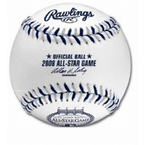 2008 All-Star Game Ball at Yankee Stadium