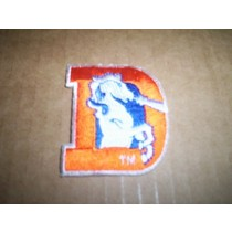 "Bronco ""D"" Logo Patch"