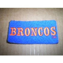 Bronco Horizontal Wool Patch