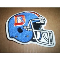 "Bronco ""D"" Logo Helmet Patch"