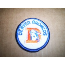 "Bronco ""D"" Logo Mini Patch"
