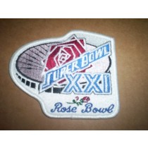 Super Bowl XXI Patch