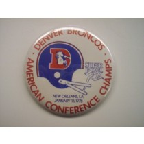 1978 American Conference Champions Button