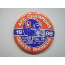 1986 AFC Champions Button