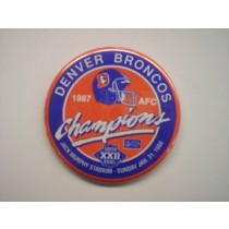 1987 AFC Champions Button