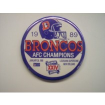 1989 AFC Champions Button