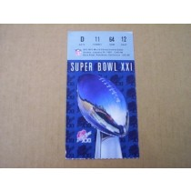 Super Bowl XXI Ticket