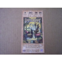 Super Bowl XXXIII Ticket