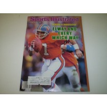 John Elway Sports Illustrated-- 10/13/86