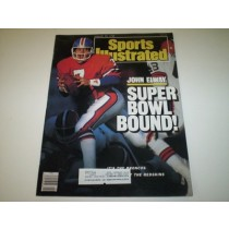 John Elway Sports Illustrated--1/25/88