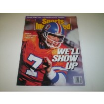 John Elway Sports Illustrated--1/22/90