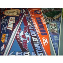 Champion & Commemorative Pennants -- Local Teams -- (26 Different)