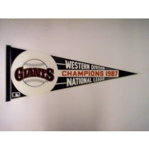 1987 GIANTS N.L. WEST CHAMPS