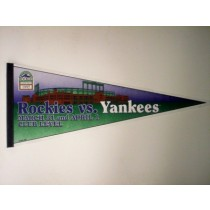 1995 CLUB LEVEL PENNANT (VS. YANKEES)