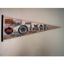 1993 SHEA STADIUM (Mets VS. Rockies -- Autographed by David Nied)