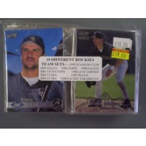 Colorado Rockies Team Set Lot (10 Sets)