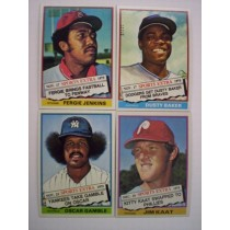 1976 Topps Traded Set