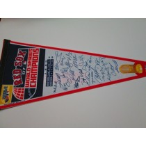 2007 WS CHAMPS RED SOX w/sigs