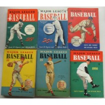 1940s Whitman/Dell MLB Guides  6 Different