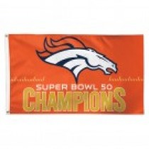 Super Bowl 50 Champions Flag