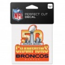 Super Bowl 50 Small Decal