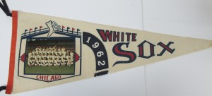 1962 Chicago White Sox Photo Pennant